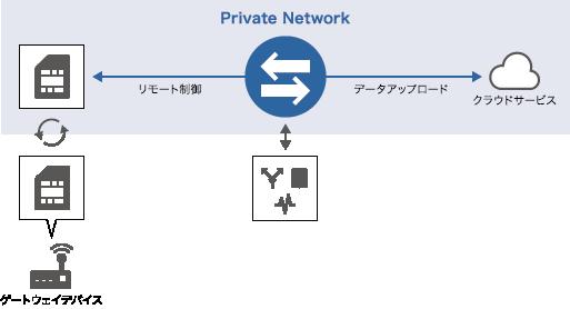 プライベートモバイルゲートウェイ概要図