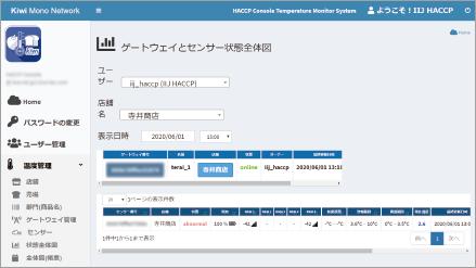アプリケーション画面イメージ1